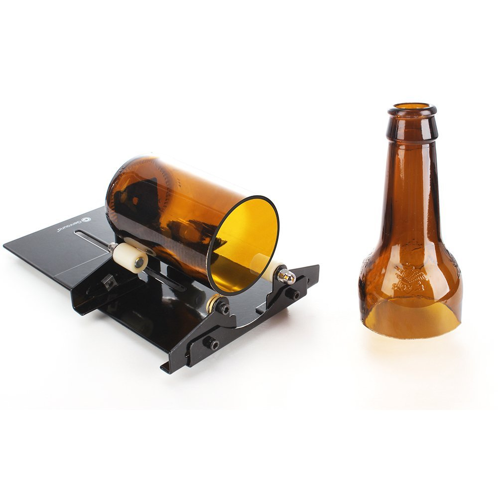 Construction Tools Independent New Arrival Glass Bottle Cutter Diy Tools Bottle Lamp Cup Tools Cutter Glass Knife Glass Bottle Cutter Wine Bottle Cutter Hot Fancy Colours Glass Cutter